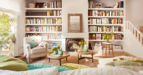 Con nombre propio: copia las mejores librerías de los decoradores de El Mueble