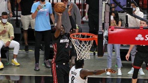 Adebayo responde en el último aliento y el Heat vence a los Nets en un dramático final
