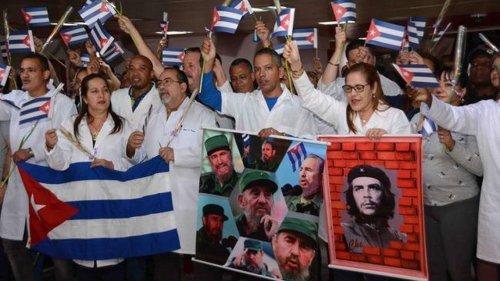 Sudáfrica le paga casi $6 millones al régimen cubano por brigadas médicas