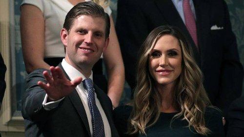 Eric y Lara Trump son los últimos de la célebre familia en mudarse para el sur de la Florida