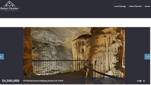Sale a la venta por $4.5 millones impresionante caverna que creó un río subterráneo de Tennessee