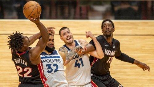 El Heat remonta y resiste para llevarse un buen triunfo ante los Timberwolves en casa