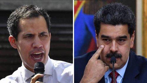 Maduro le dice a Guaidó que ya hay diálogo entre el Gobierno y la oposición