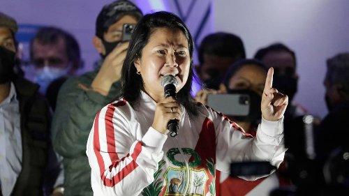 Sin final a la vista en Perú, Fujimori plantea auditoría del órgano electoral