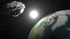 Discover asteroid past earth