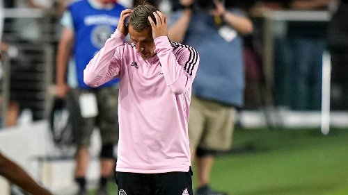 El Inter Miami no arranca y con 9 hombres sufre la pena máxima en casa del DC United