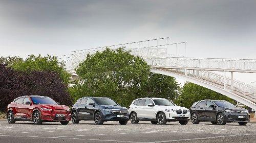 Cuatro SUV eléctricos a prueba: las imágenes   Fotos   Motor EL PAÍS