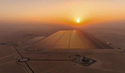 La energía del desierto: la planta solar más grande del mundo