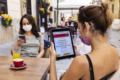 EL PAÍS logra 110.000 suscriptores tras lanzar su modelo de pago digital