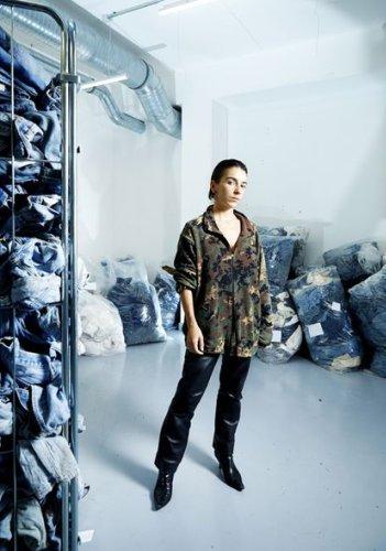 Marine Serre, reina del reciclaje textil