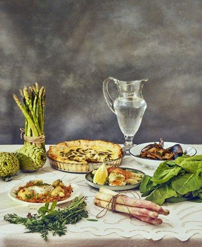 Cinco recetas de cenas primaverales