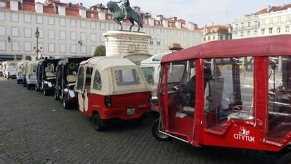 Lisboa cierra el centro histórico a los coches de combustibles fósiles