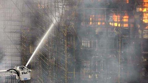 Un incendio en un centro de artes marciales de China deja al menos 18 muertos