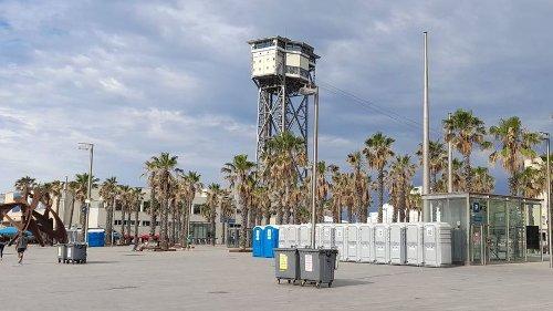 Cuenta atrás: Barcelona despliega el operativo de verbena en las playas