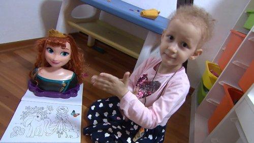 5-jährige Clara sucht verzweifelt eine Stammzellenspende