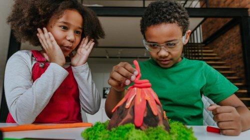 Vulkan basteln: Wenn Kinder mit Spaß lernen