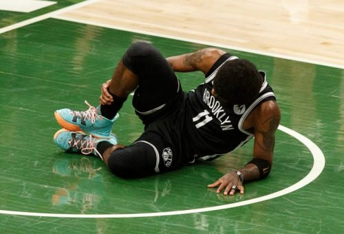 Brooklyn Nets V Milwaukee Bucks Game 5 ticket prices down with Kyrie Irving OUT