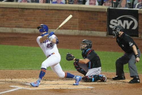 Alonso Powers Mets To A 9-4 Victory Over Marlins