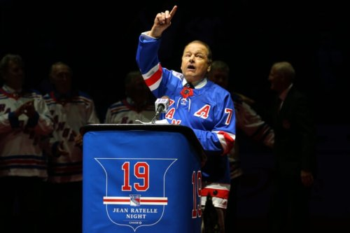 New York Rangers to honor 'Mr. Hockey' Rod Gilbert