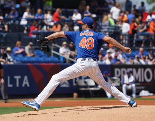 Mets finally get some encouraging news about ace Jacob deGrom