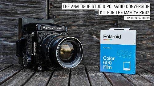 The Analogue Studio Polaroid conversion kit for the Mamiya RB67   EMULSIVE