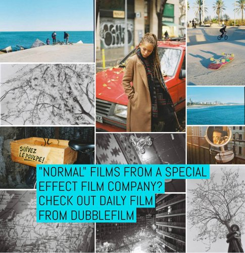 """""""Normal"""" films from a special effect film company? Check out DAILY film from dubblefilm   EMULSIVE"""