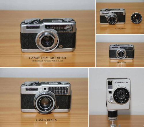 Revisiting the cameras of my youth: Five half-frame Canon cameras over five and a half decades