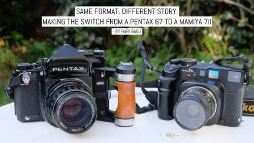 Same format, different story: Making the switch from a Pentax 67 to a Mamiya 7ii