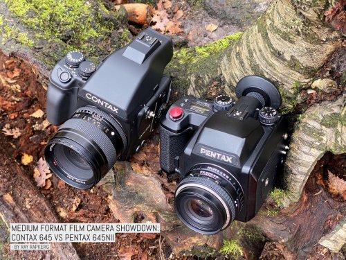 Medium format film camera showdown: Contax 645 vs Pentax 645NII | EMULSIVE