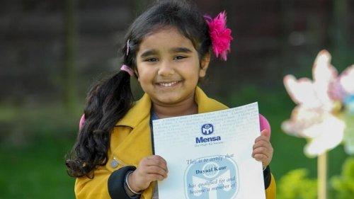 Dayaal Kaur, A Genius 4-Year Old Girl Called Baby Einstein; Joins Mensa Club Of High IQ Kids