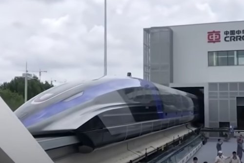 China launches the world's fastest train