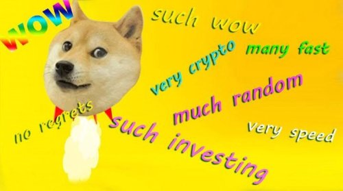 Meme Crypto Dogecoin Price Up 400% In 1 Week