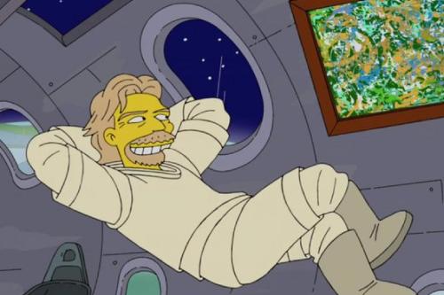 The Simpsons predicted Richard Branson's space trip according to Virgin Atlantic