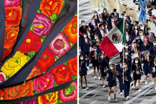 Tokyo 2021: the gala uniform of Mexican athletes with Oaxacan embroidery