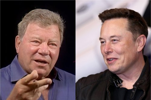 Elon Musk had some (surprisingly kind) words for William Shatner before spaceflight