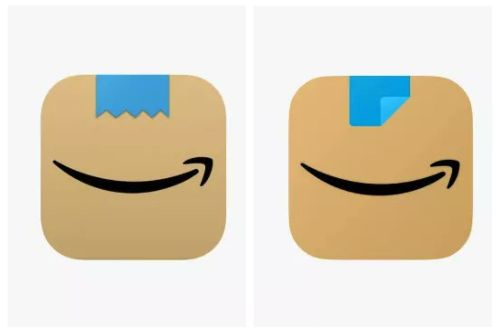 Amazon changed its logo twice in the last month, because of Hitler?