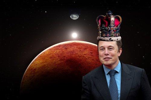 Elon Musk proclaims himself emperor of Mars