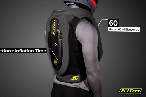 This motorcycle airbag vest would stop working if you don't pay a subscription