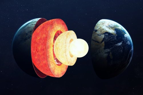 The Earth's core begins to have an unusual growth that science cannot explain