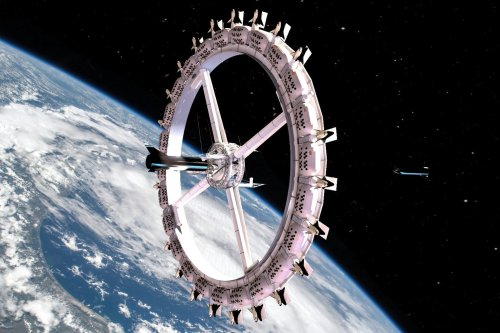 The first hotel in the space will open in 2027