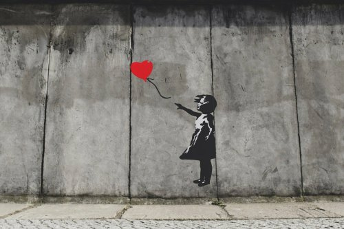 Banksy copyright is removed from his works to make greeting cards
