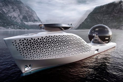 It Costs $3 Million to Travel on This Nuclear Yacht Packed With Millionaires, Scientists and Celebrities