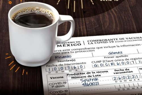 TOKS gives you a cup of American coffee on the day of your vaccination