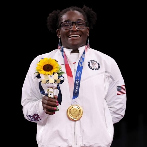 Tamyra Mensah-Stock Becomes First Black Woman to Win Olympic Gold in Wrestling
