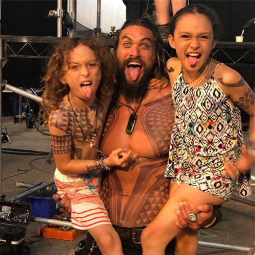 """Jason Momoa Reveals Which Projects He Refuses to Show His Kids: """"We Don't Talk About Those Words"""""""