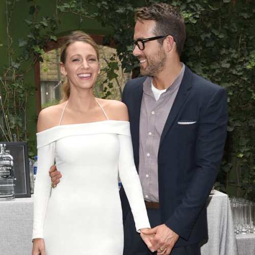 Blake Lively Shares Precious Father's Day Photo of Her Late Dad Ernie Embracing Ryan Reynolds
