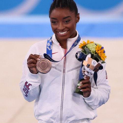 The Weight of Simone Biles' World and the Immeasurable Value of What She Achieved at the Tokyo Olympics