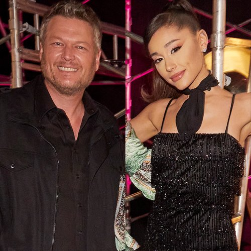 See Blake Shelton's Text to Ariana Grande After Report Claimed She's Kicking Him Off The Voice