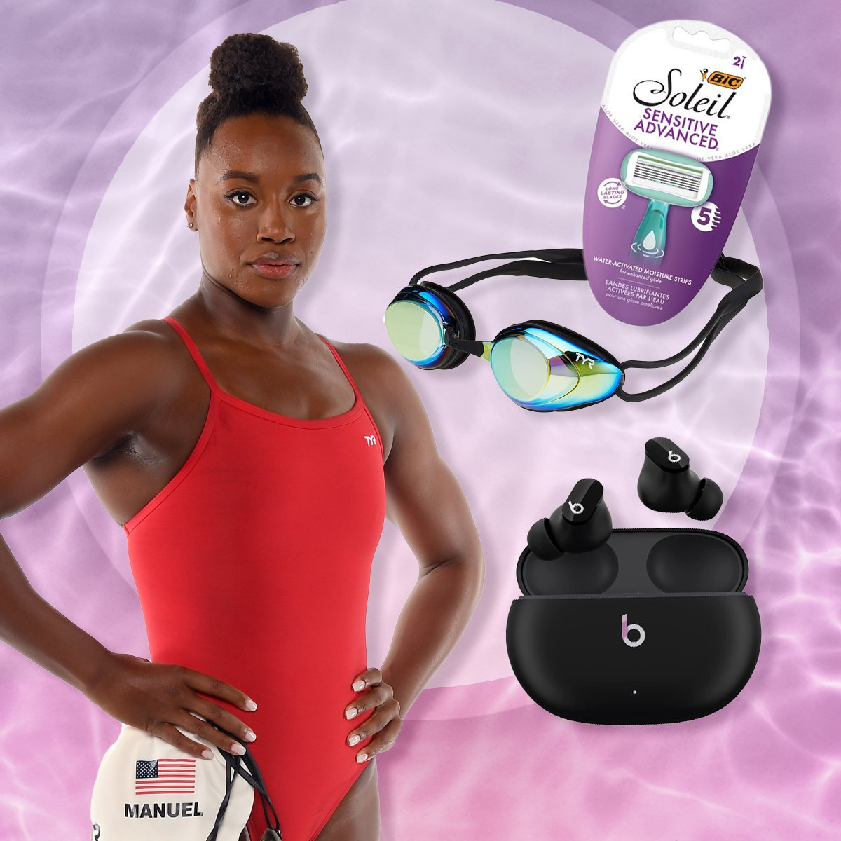 Olympian Simone Manuel Shares What's In Her Bag