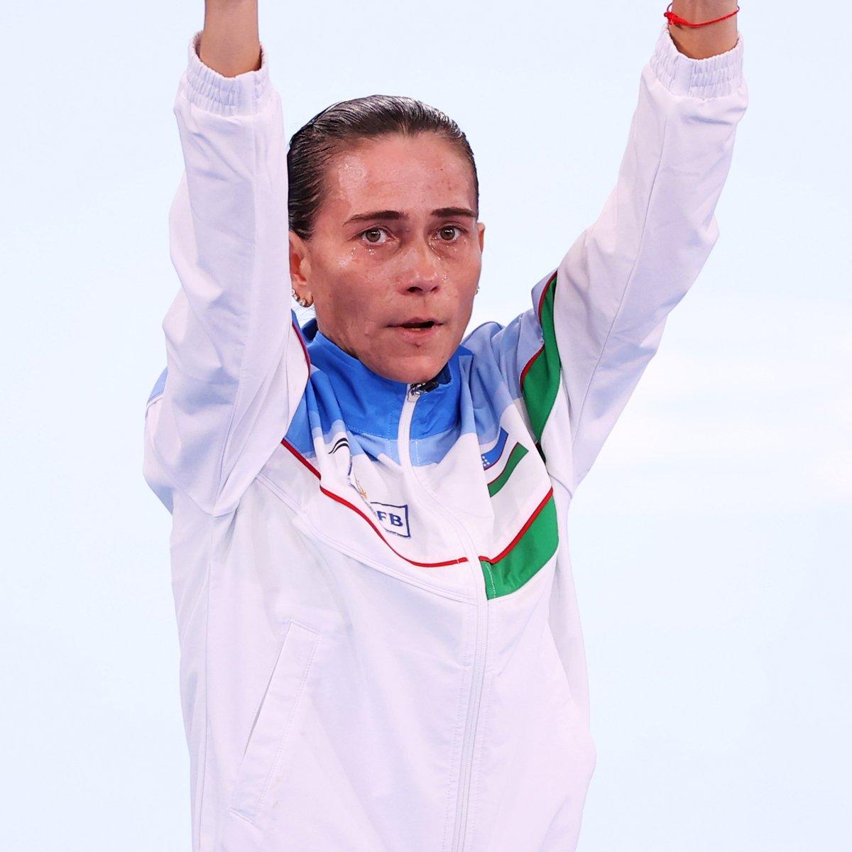 Gymnast Oksana Chusovitina Receives Standing Ovation at Age 46 During Tokyo Olympics